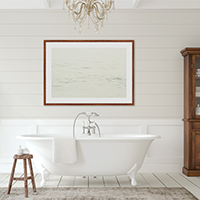 Halcyon - Spa wall decor by Cattie Coyle Photography
