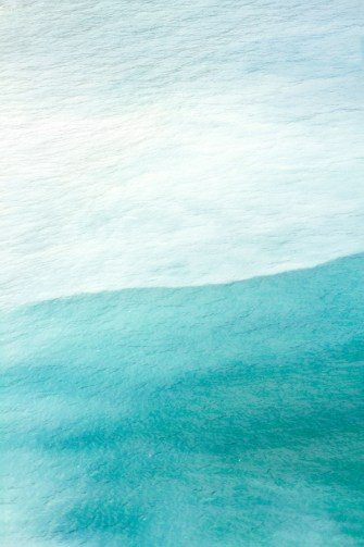 Magoito No 2 - Abstract teal color fine art by Cattie Coyle Photography