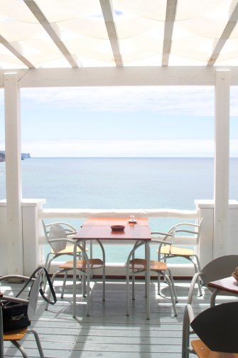 Restaurant at Praia do Magoito by Cattie Coyle Photography