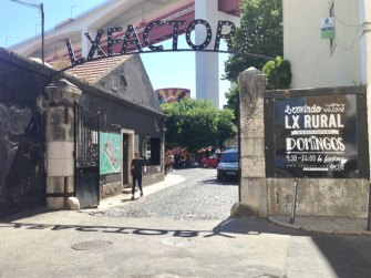 Lisbon Portugal LX Factory