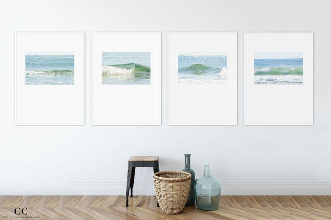 Ocean Waves - Fine art prints by Cattie Coyle Photography