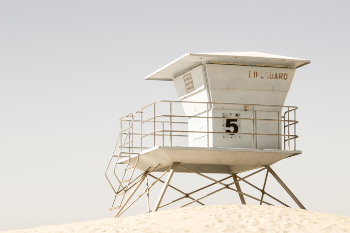 California Dreaming No 2 - Beach art print by Cattie Coyle Photography