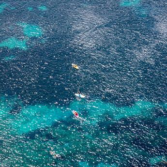 Côte d'Azur No 1 - Mediterranean Sea aerial wall art by Cattie Coyle Photography fi