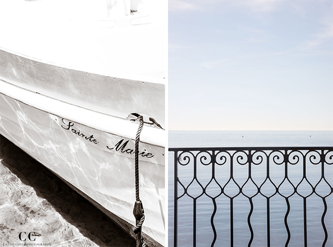 Boat No 5 and Quiet Morning - French Riviera fine art prints by Cattie Coyle Photography