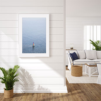 Sailing Nice - Coastal wall decor by Cattie Coyle Photography