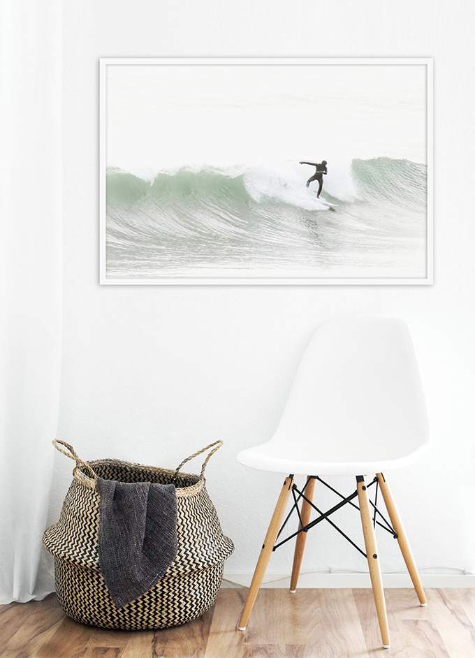 Surfing No 5 - Fine art print by Cattie Coyle Photography
