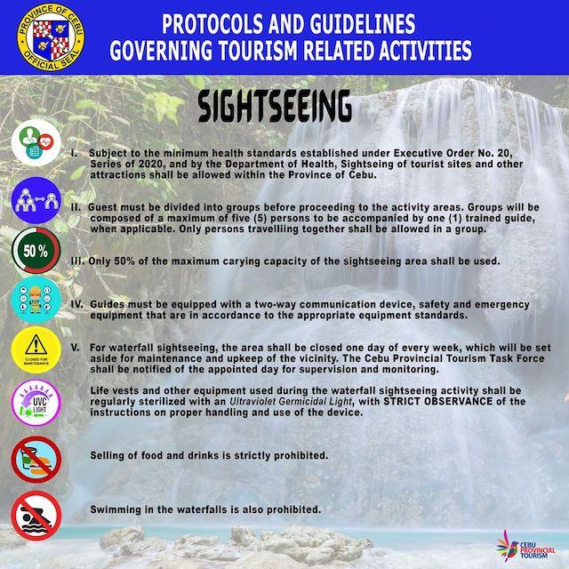 【新型コロナウイルス】セブ島の観光地再開に伴う新たなルール