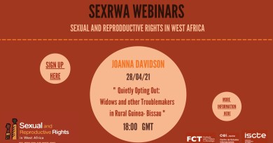 28 APR | SEXRWA Webinar: Widows & Other Troublemakers in Rural Guinea-Bissau