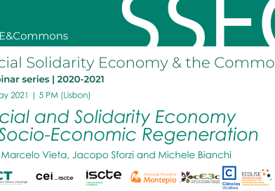 20 MAY | #SSE&Commons | Social and Solidarity Economy in Socio-Economic Regeneration