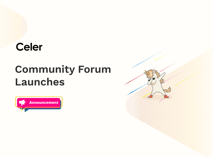 Celer Community Forum Launches