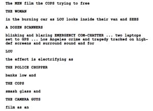 police adage script