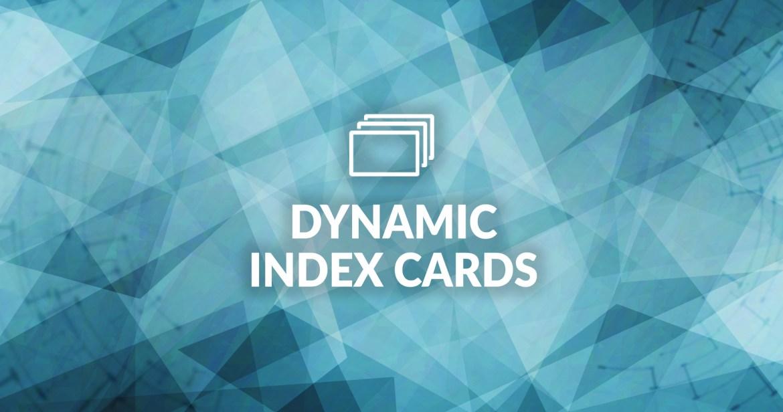 celtx dynamic index cards
