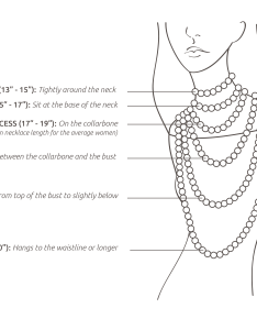 Necklace length guide how to measure  choose the right also rh blog centime
