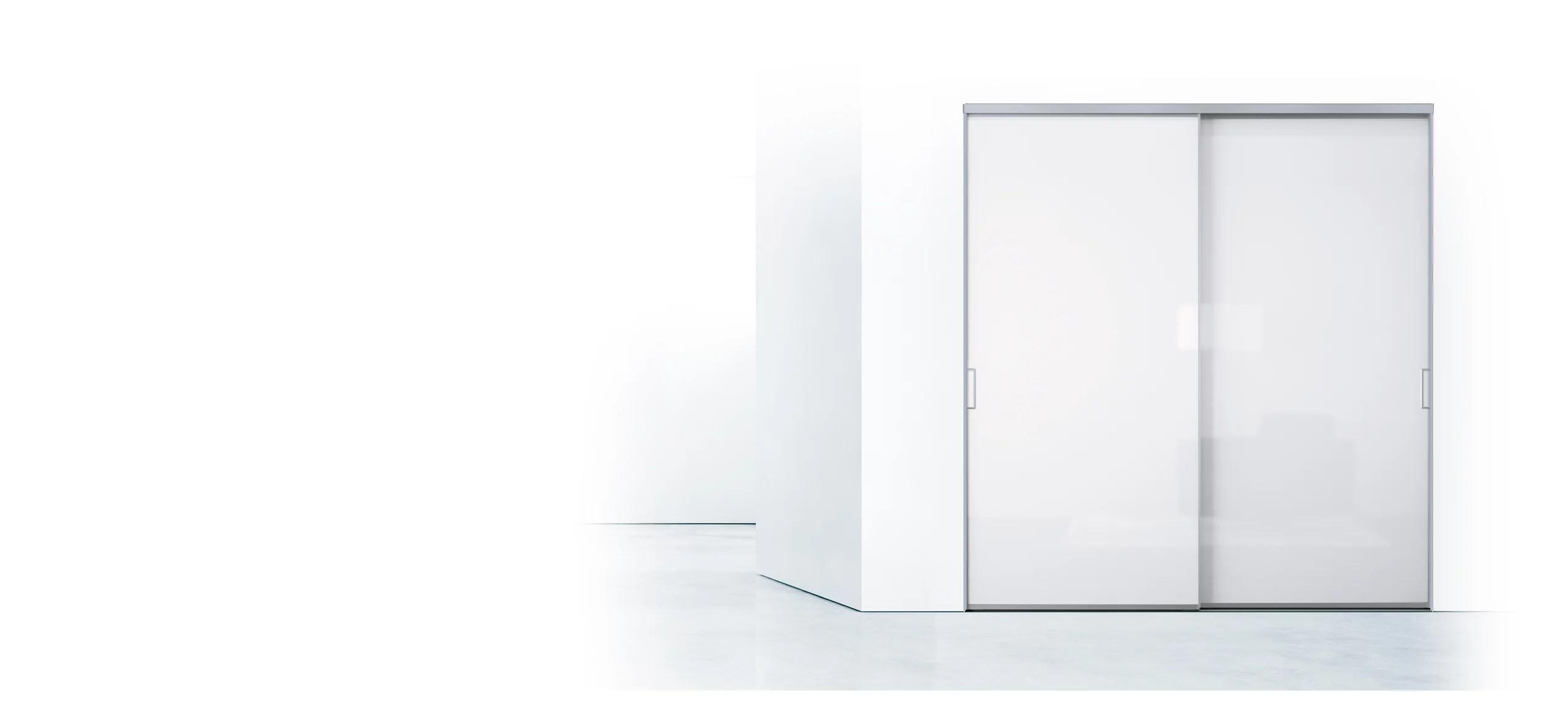 porte de placard blanc 6 teintes ou