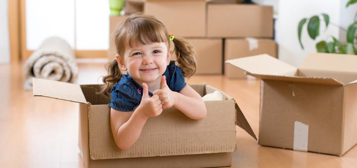 ¿Tienes niños pequeños? Tips para que la mudanza se realice sin problemas