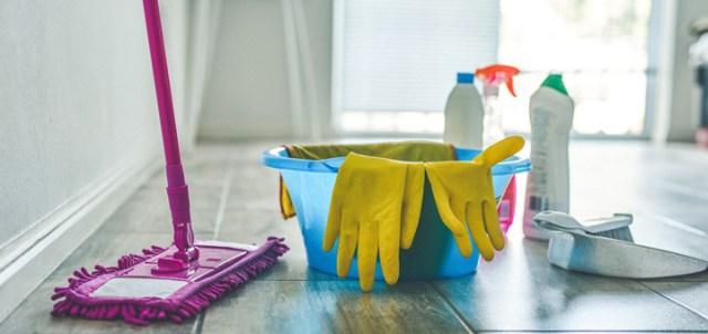 Artículos limpieza departamento