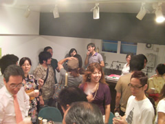 AIP Cafe Openの様子6