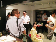 AIP Cafe Openの様子7
