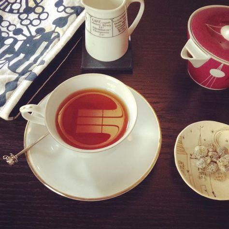 なんだかパックマンが見える(*^^*) #teatime (Instagram)