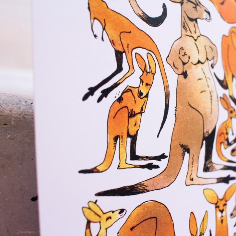 Tipeee kangourous