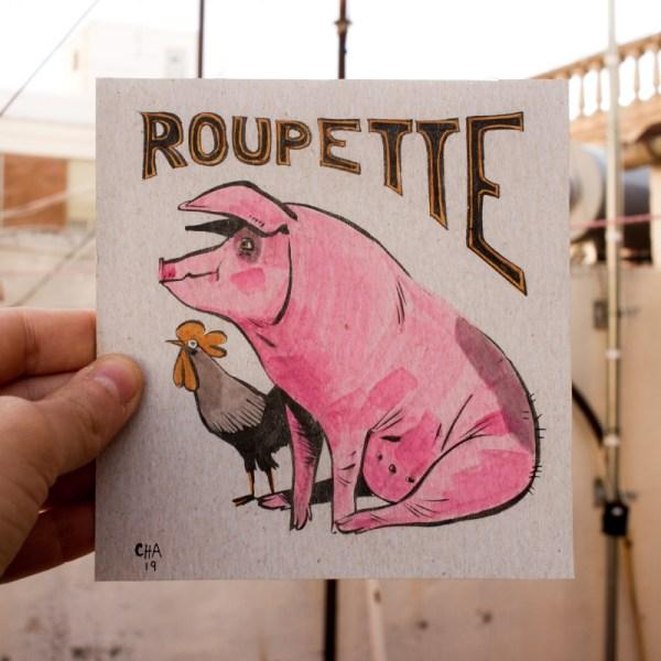 Roupette le cochon