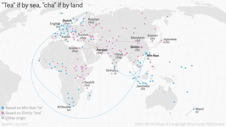 Tee nime leviku kaart maailmas.