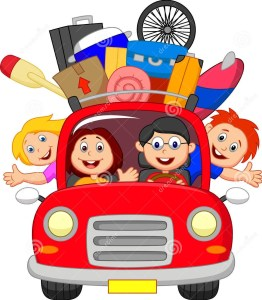 cartoon-family-traveling-car-illustration-33242903