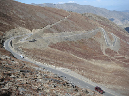 roads of babusar top