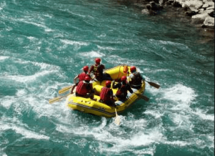 baabusar top rafting