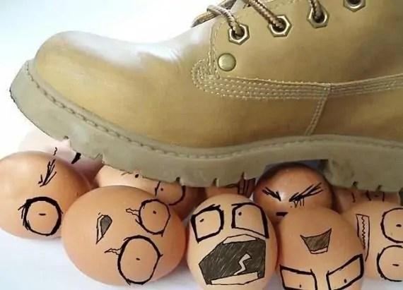 Eggshell personalities