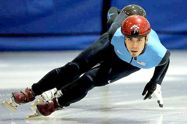 Image result for apolo ohno skating