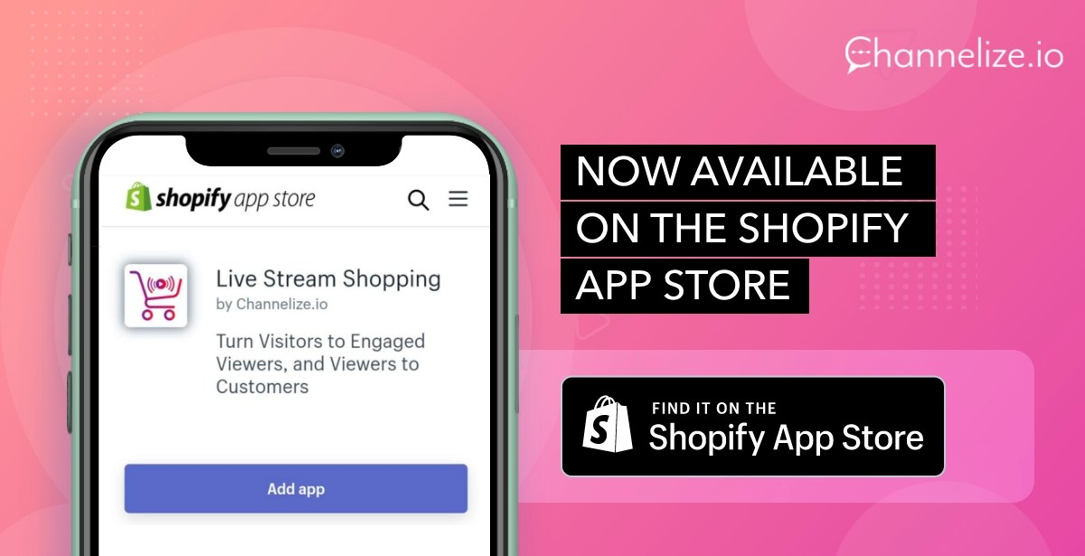 Introducing Live Stream Shopping for Shopify!