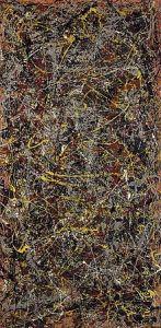 No. 5, 1948, by Jackson Pollock