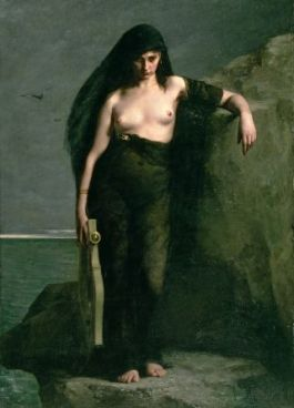 sappho painting