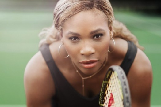 Portrait of Pro Tennis Player Serena Williams, photo by Chase Jarvis