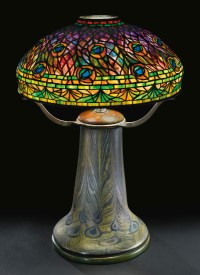 tiffany-peacock-lamp-sothebys | Philip Chasen Antiques
