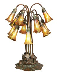 doyle-tiffany-lily-lamp | Philip Chasen Antiques