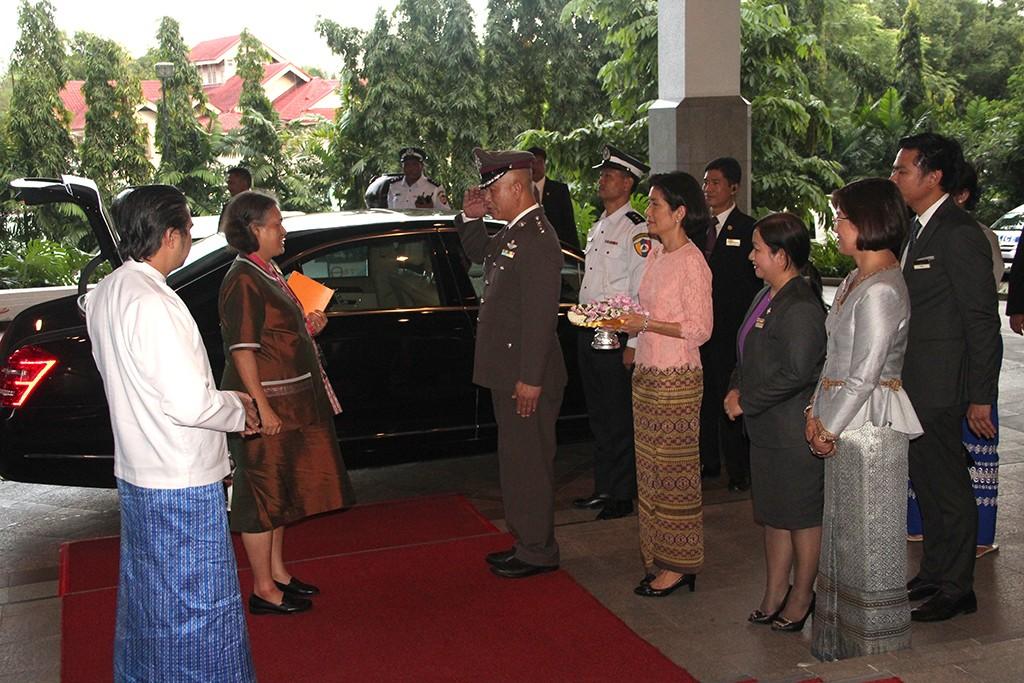 HER ROYAL HIGHNESS PRINCESS MAHA CHAKRI SIRINDHORN STAYED AT CHATRIUM HOTEL ROYAL LAKE YANGON2