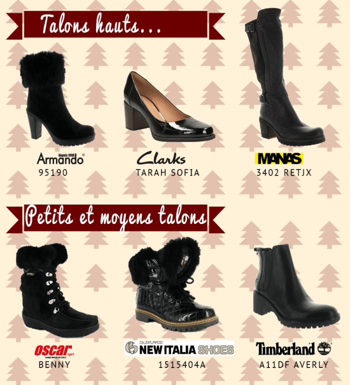 chaussures spécial fêtes montagne femme