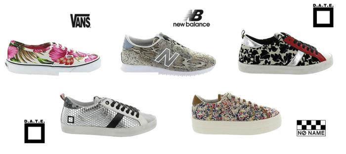 Tendance chaussures 2016 sneaker
