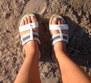 fashion faux pas chaussures sandales