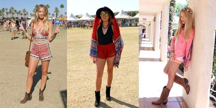 Chaussuresà Coachella : bottines