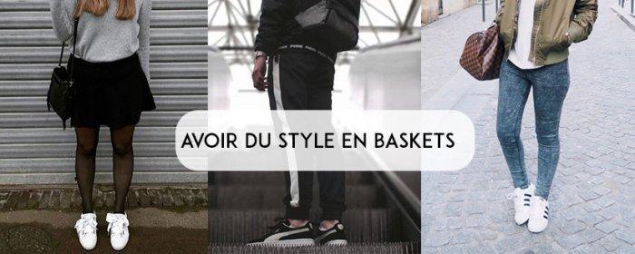 Avoir du style en baskets