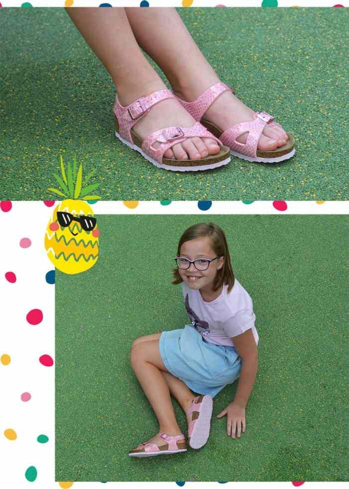 Sandales enfant birkenstock