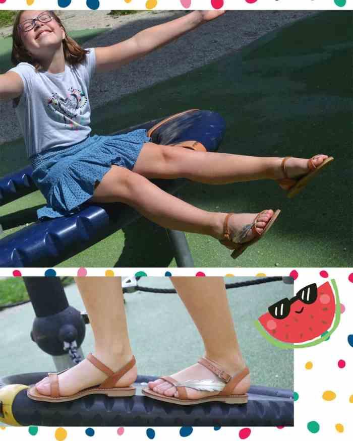 sandales enfant adolie
