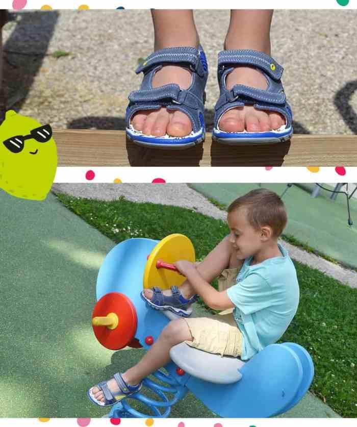 Sandales enfant bopy