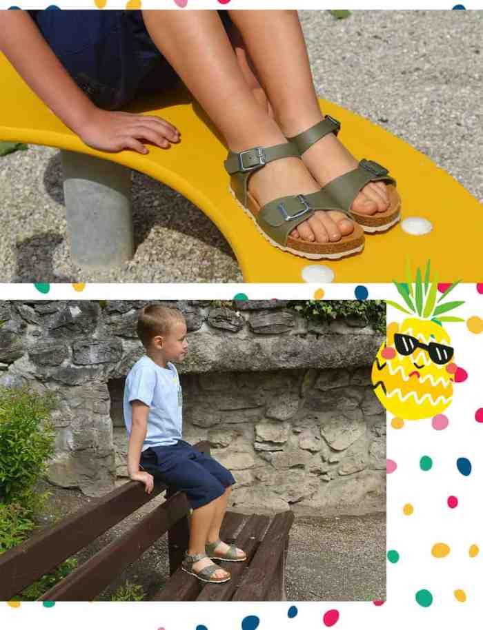 sandales plakton enfant