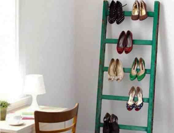 Chaussuresonline-échelle-rangement-chaussure-rangementschaussures-DYI-astuce-idée