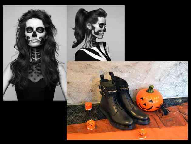 Chaussuresonline-boots-Armando-diamant-noir-déguisement-look-halloween-tenue-ootd-zombie
