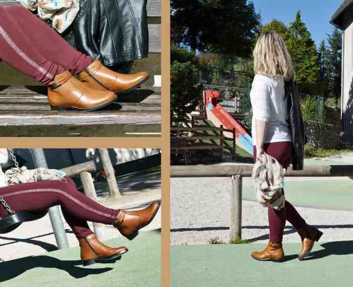 Chaussuresonline-chaussures-bottines-marron-gold-idée-tendance-Tamaris-25008